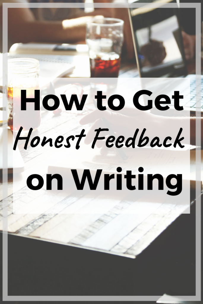 Get useful feedback on your writing using these easy tips