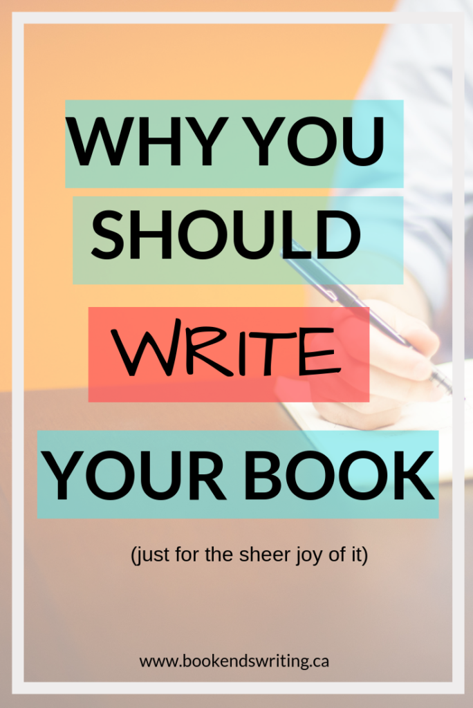 80% of people want to write a book, but only 1% ever will. We get into our view of why this is and encourage you to write your book (even if just for the sheer joy of doing it).