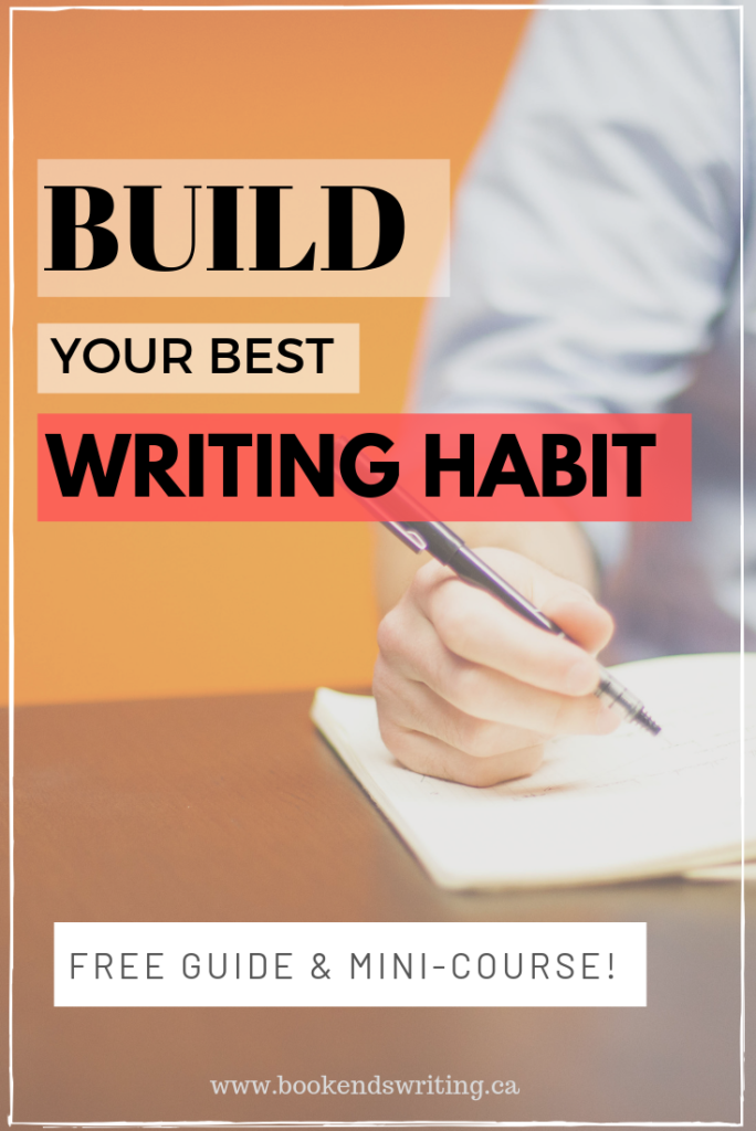 Build Your Best Writing Habit with this mini-course