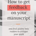 Get feedback on your writing blog post